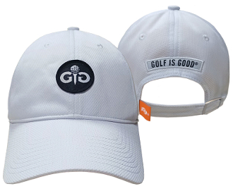 Golf Is Good Icon Black Performance Hat